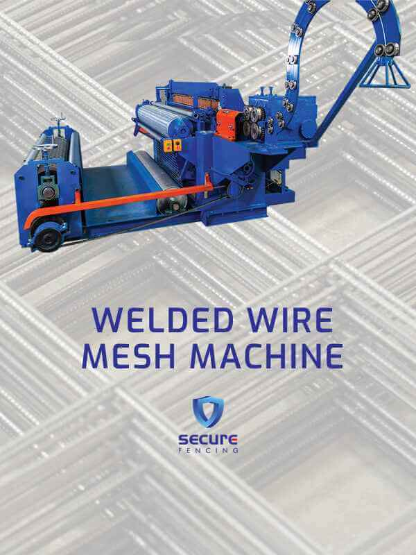 welded wire machine in India